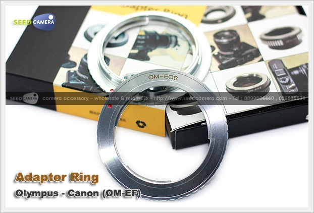 Adapter Ring Olympus - Canon (OM-EF)