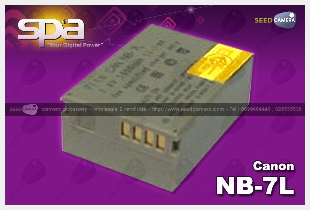Battery Canon NB-7L For G10