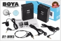 ไมโครโฟนไร้สาย BOYA BY-WM5 Wireless 2.4GHz Microphone for DSLR