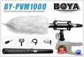 ไมโครโฟน BOYA BY-PVM1000 (Set) Condenser Shotgun Microphone
