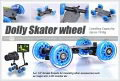 Dolly Kit Skater D1 for DSLR Camera