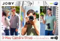 JOBY 3-Way Camera Strap for DSLRs & CSCs