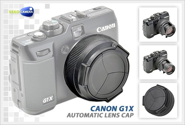 Automatic Lens Cap for Canon G1X