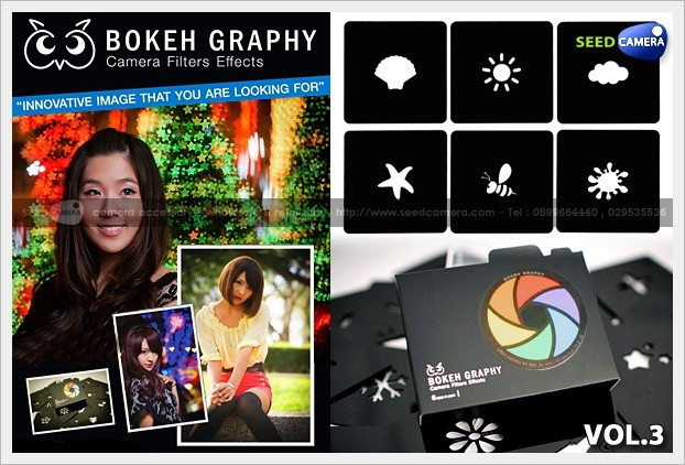 Bokeh Graphy Camera Filters Effects Vol.3