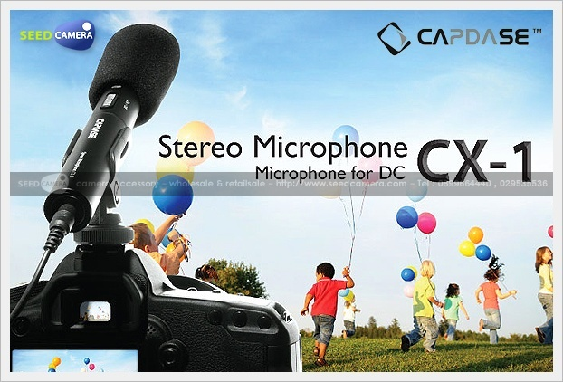 Capdase CX-1 Stereo Microphone for DSLR