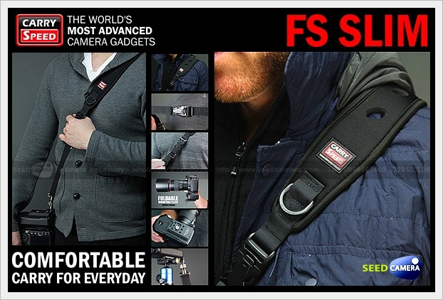 Carry Speed FS-SLIM Sling Strap with Foldable Mounting Plate