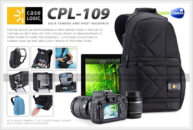Case Logic DSLR Camera and iPad® Backpack (CPL-109)