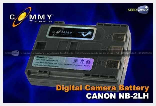 Commy Battery Canon NB-2LH (800mAh)