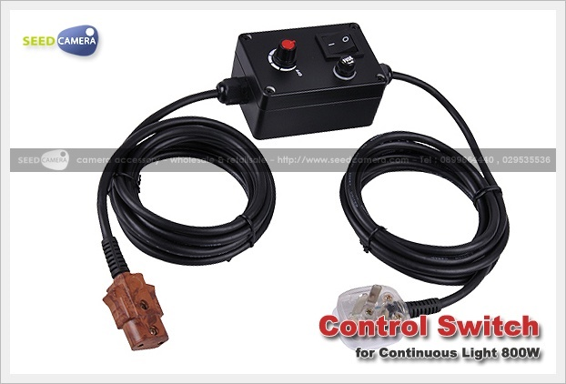 Control Switch Continuous Light 800W