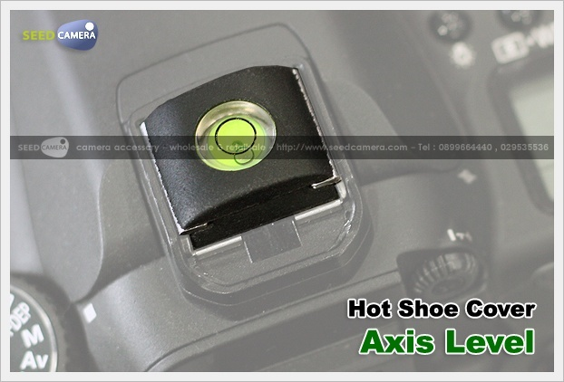 Hot Shoe Cover with Axis level
