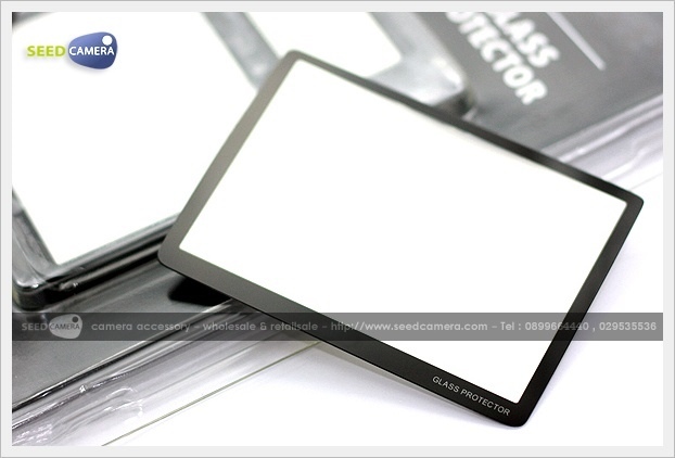 LCD Screen Protector For DSLR (Glass)