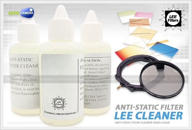 Lee Filter Anti-Static Cleaning Solution 60ml