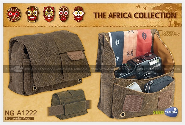 National Geographic Africa A1222 Horizontal Pouch