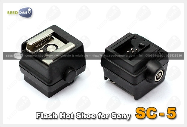 SC-5 Flash Hot Shoe for Sony