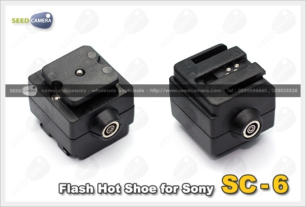 SC-6 Flash Hot Shoe for Sony
