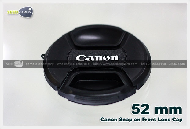 Snap-on Lens Cap Canon 52mm