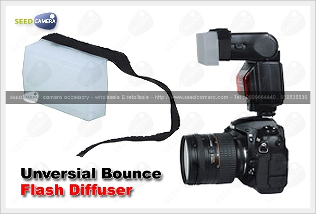 Unversial Bounce Flash Diffuser
