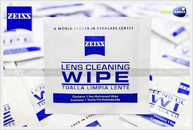 Zeiss Pre-Moistened Lens Cleaning Wipes - 10 Pcs