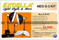 Excella Neo D-3 Kit