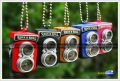 Keychain Camera Retro (Shutter Sound + LED Light)