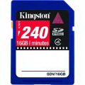 Kingston SDV/16GB Class 4