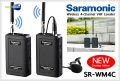 ไมโครโฟนไร้สาย Saramonic SR-WM4C Wireless Microphone 4 Channel