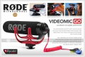 RODE VideoMic GO with Rycote Lyre Suspension System