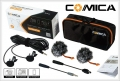 ไมค์สาย 2 หัว Comica CVM-D02 (4.5M) For Camera Smartphone Gopro