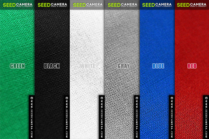 ผ้าฉาก Chromakey 100% Cotton Muslin Background (3 x 6 เมตร)