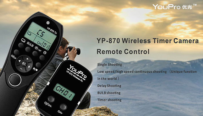 YouPro YP-870 Wireless Shutter Timer
